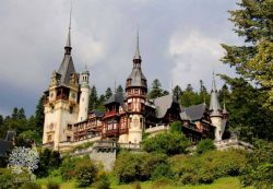 Pelešo pilis. Rumunija