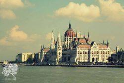 Parlamento rūmai. Budapeštas, Vengrija.