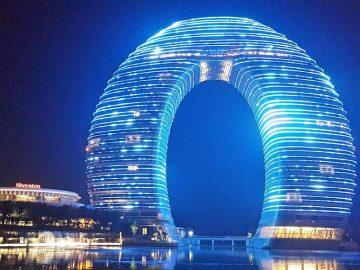 Donut hotel, Kinija