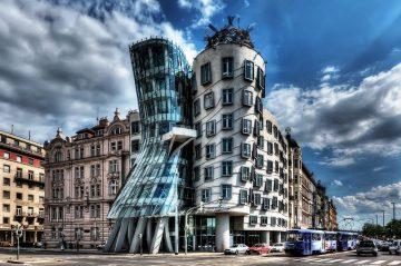Sokantis namas, Praha, Čekija