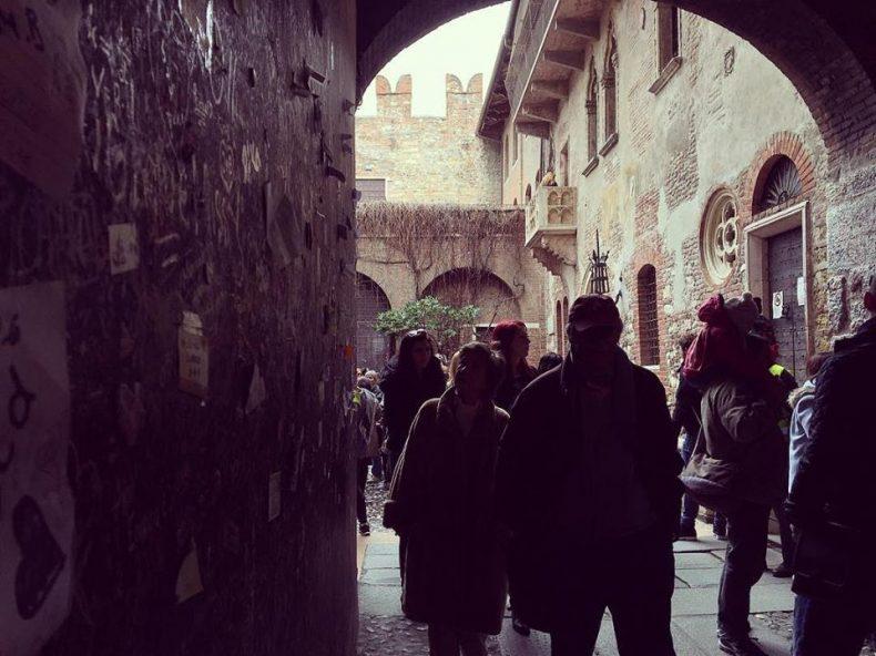 Verona ir Džiuljetos balkonas