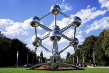 Atomiumas, Briuselis, Belgija