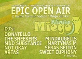 Epic open air festivalis