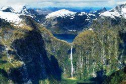 Sutherland kriokliai, Naujoji Zelandija