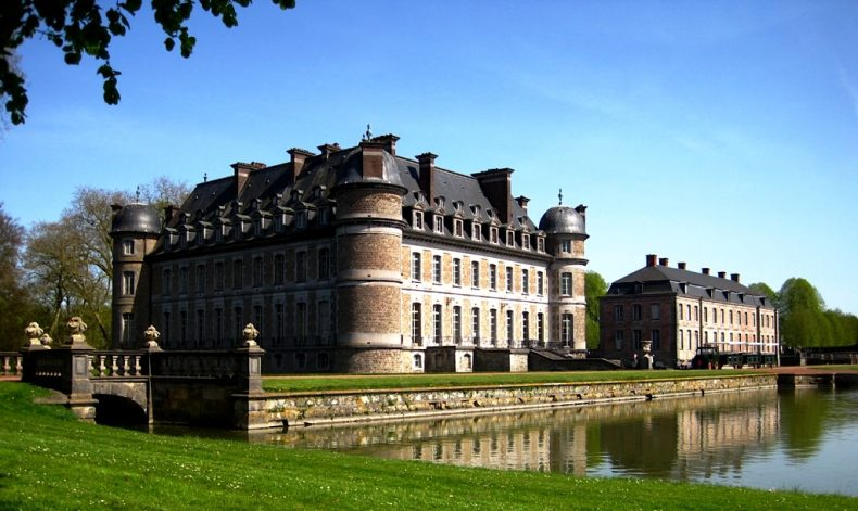 Beloeil pilis, Belgija