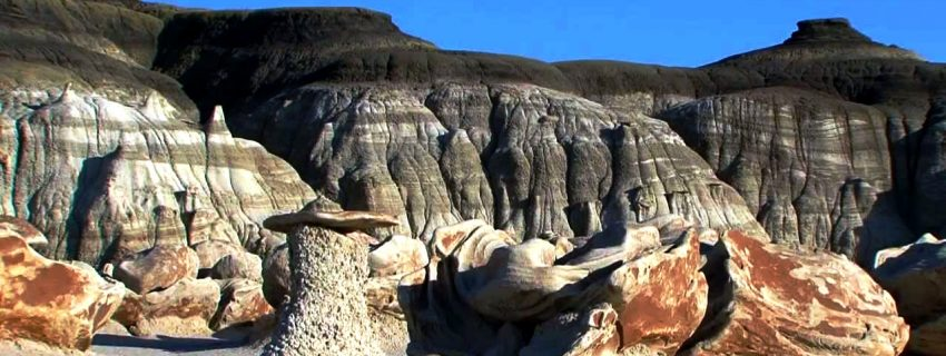Bisti Badlands JAV