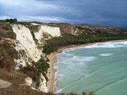 Capo Bianco, Sicilija. Viltės G. nuotrauka