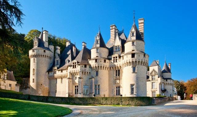 Prancūzija. Chateau d'Usse pilis
