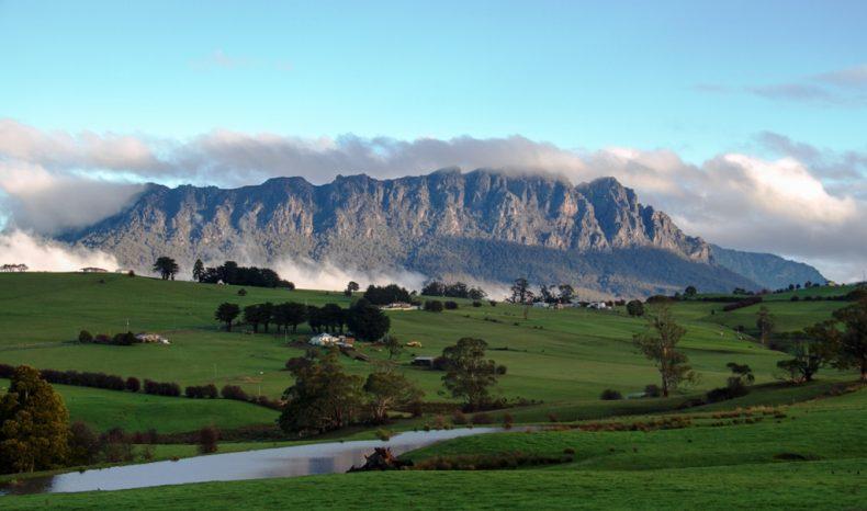 Cradle kalnas, Tasmanija, Australija