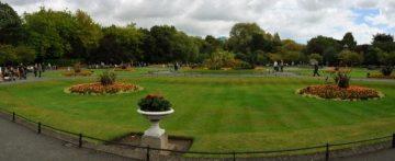 Dublinas, St. Stephens Green parkas