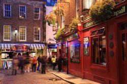 Dublinas, Temple Bar gatvė, Airija