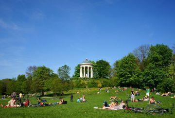 Englischer Garten, Miunchenas, Vokietija