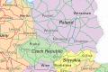 European East Pass maršrutų žemėlapis