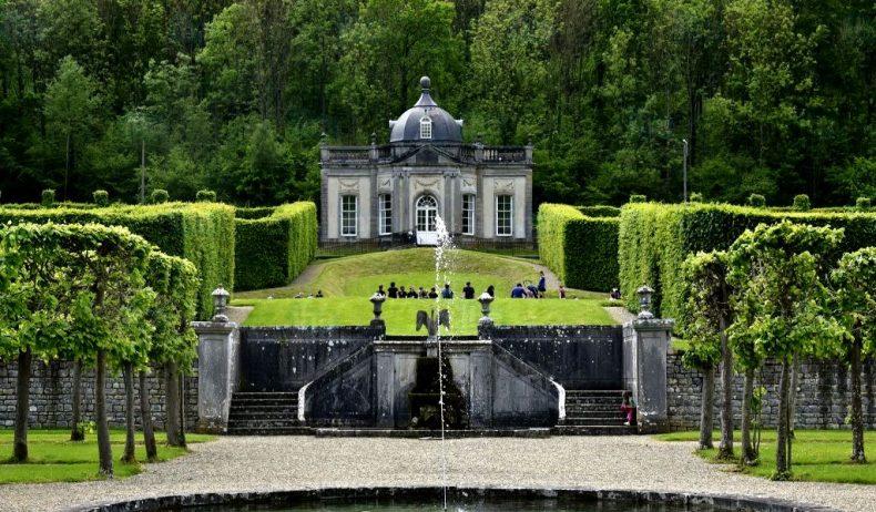 Freyr pilis, Belgija