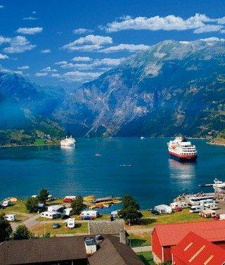 Geirangerio fjordas, Norvegija