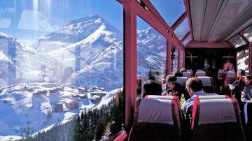 Glacier Express traukiniai