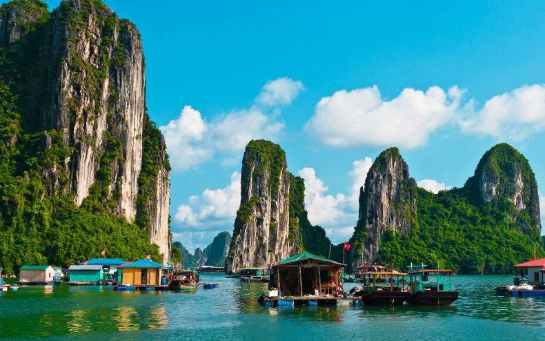 Halongo įlanka, Vietnamas