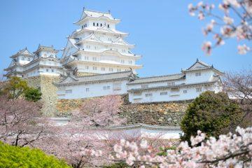Himeji pilis, Japonija