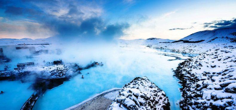 Islandija žiemą