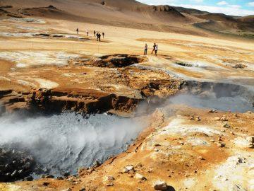 Islandija Hveriro Nacionalinis parkas