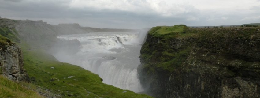 Gullfoss krioklys, Islandija, Dalios nuotr.