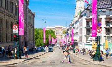 Oslas, Karl Johans gatvė