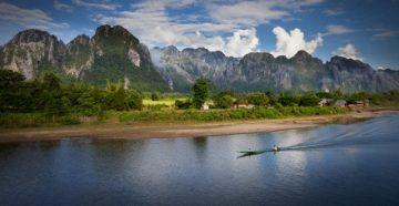 Pigios kelionės. Laosas