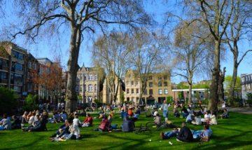 Pavasaris Londone, Anglija