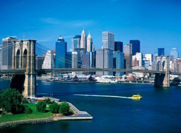 Manhetenas ir Bruklino tiltas, Niujorkas, JAV