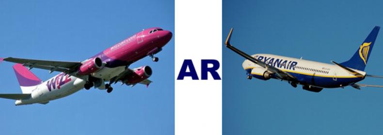 Pigių skrydžių bendrovių apžvalga: Ryanair ar Wizzair
