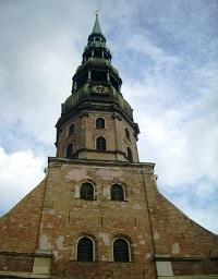Ryga, Šv. Petro katedra