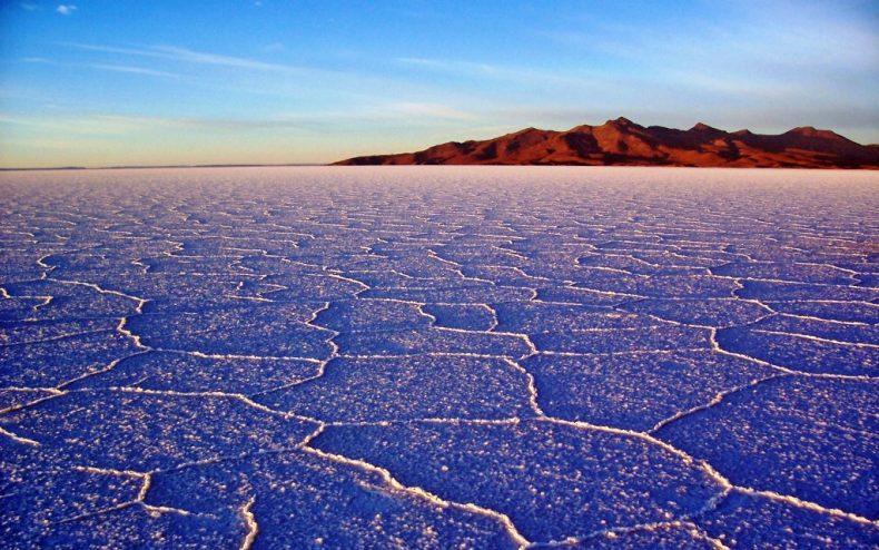 Salar de Uyuni ežeras, Bolivija