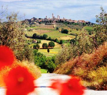 San Gimignano, Toskana, Italija