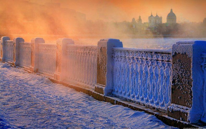 Sankt Peterburgas žiemą