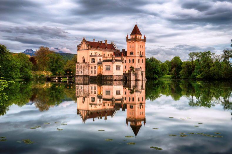 Schloss Anif pilis, Austrija