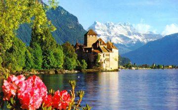 Šiljono pilis, Šveicarija