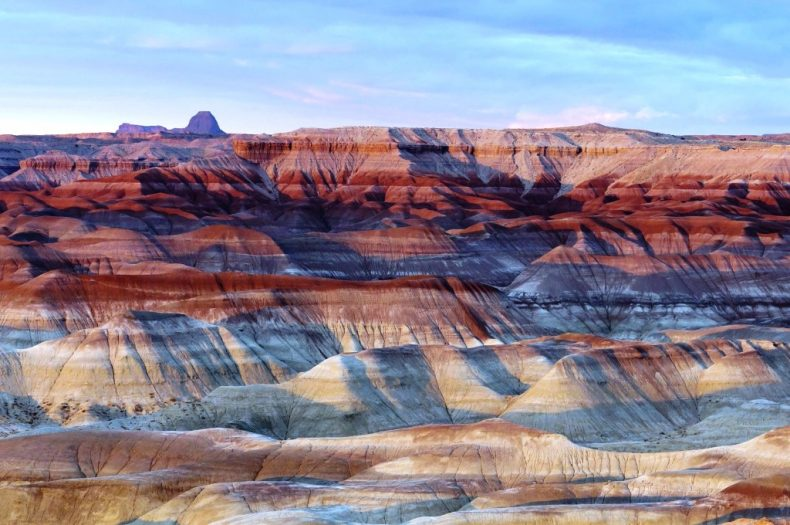 Spalvotoji dykuma, Arizona, JAV