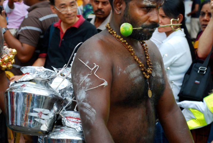 Thaipusam festivalis Pietryčių Azijoje