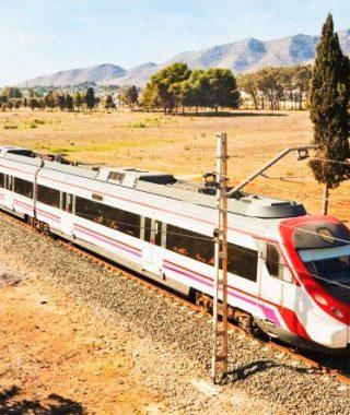 Traukinių maršrutai Ispanijoje