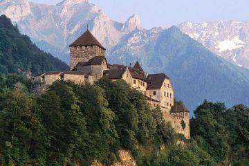 Vaduco pilis, Lichtenšteinas