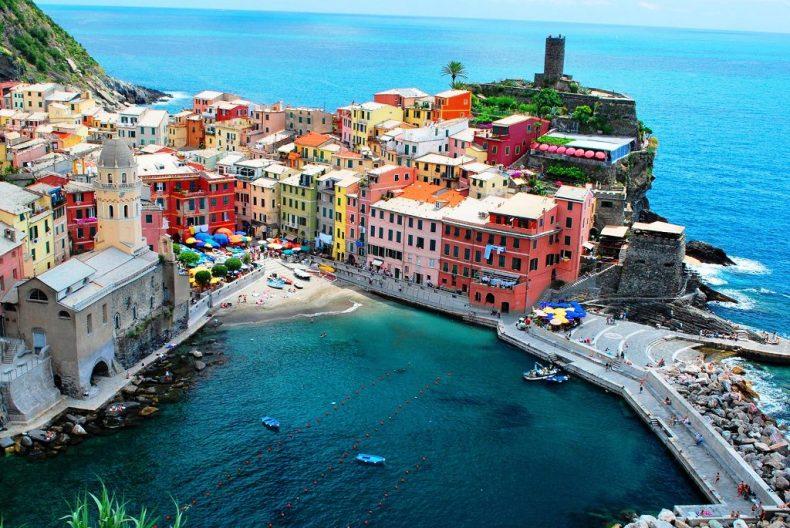 Vernazza, Cinque Terre, Italija