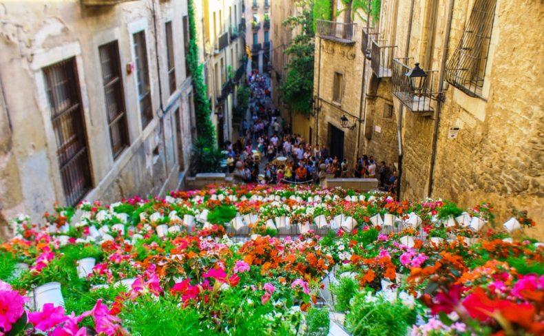 Žironos gėlių festivalis, Ispanija