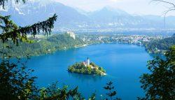 Vaizdingas maršrutas Slovėnijoje. Bledo ežeras