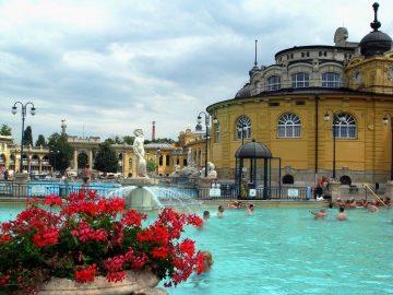 Budapešto termo pirtys, Vengrija