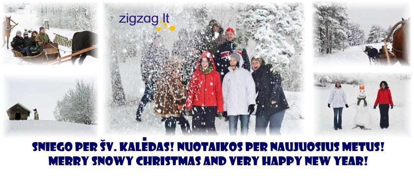 """""""Zigzag Travel"""" kalėdinis sveikinimas"""