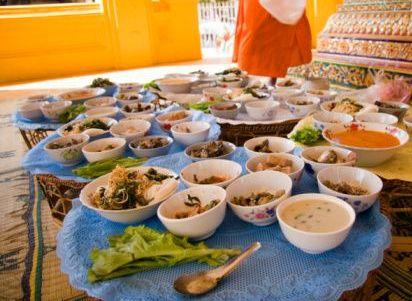 Maisto gaminimas Luang Prabange, Laose