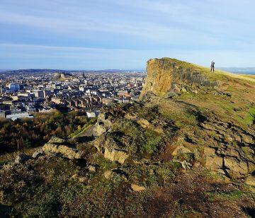 Edinburgas, Artūro sostas