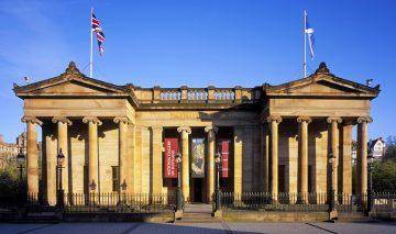 Edinburgas, Nacionalinė Škotijos galerija