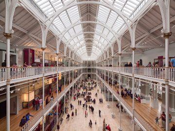 Edinburgas, Nacionalinis Škotijos muziejus
