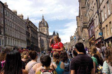 Edinburgas, nemokamas turas